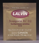 Lalvin RC-212 Active Freeze-Dried Wine Yeast