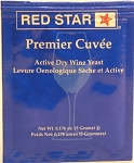 Red Star Premier Cuvee Wine Yeast 5 Grams