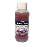Natural Plum Flavor Extract 4 Oz