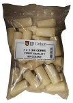7x1 3/4 First Quality Straight Wine Corks Pore Filled 30 Count Bag