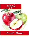 Apple Fruit Wine Lables