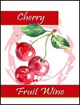 Cherry Fruit Wine Labels