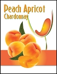 Peach Apricot Wine Labels