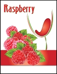 Raspberry Wine Labels