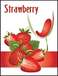 Strawberry Wine Labels