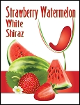 Strawberry Watermelon Wine Labels
