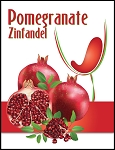 Pomegranate Wine Labels