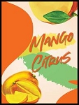 Mango Citrus Labels