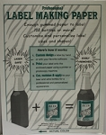 White Label Making Paper