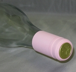 Pink PVC Shrink Capsules