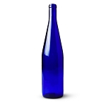 750mL California Cobalt Blue Hock Bottles