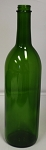 750mL Green Screw Top Claret Bottles