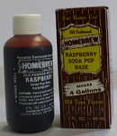 Raspberry Soft Drink Extract 2 Oz