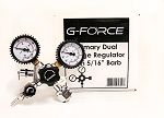 G-Force Primary Dual Guage Regulator with 5/16
