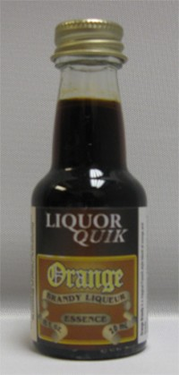 Orange Brandy Liquor Quik Essence